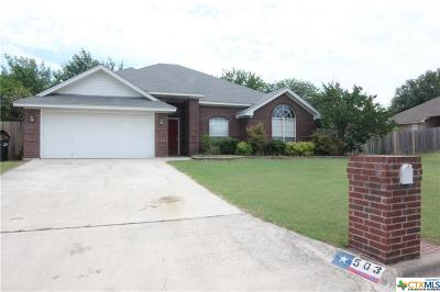 Harker Heights Single Family Home For Sale: 503 Man O War