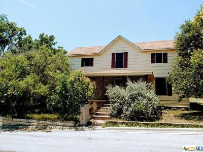 Lampasas Single Family Home For Sale: 108 N Walnut