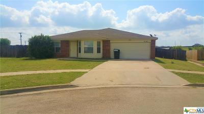 Killeen TX Single Family Home For Sale: $129,990