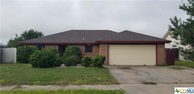 Killeen Single Family Home For Sale: 3902 Sawtooth Drive