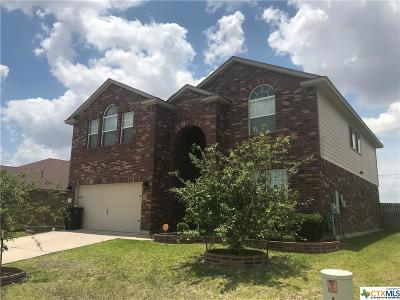 Killeen TX Single Family Home For Sale: $224,500