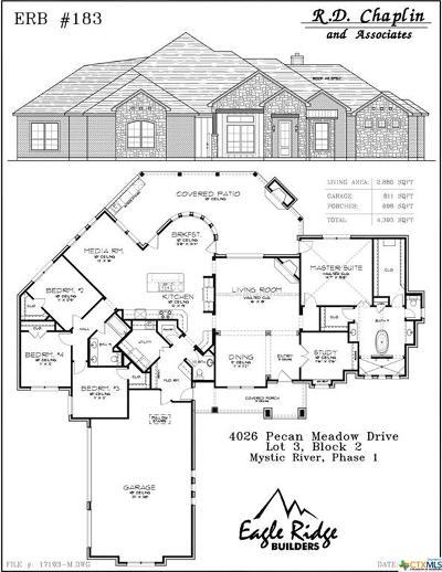 Belton Single Family Home For Sale: 4026 Pecan Meadow Drive