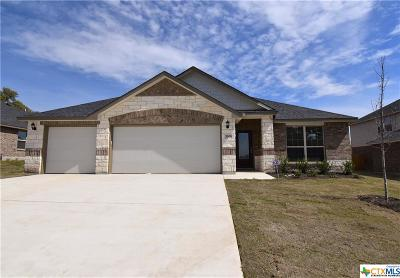 Killeen Single Family Home For Sale: 7606 Melanite Drive