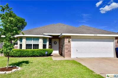 Copperas Cove TX Single Family Home For Sale: $158,000