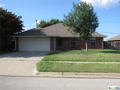 Killeen Single Family Home For Sale: 2701 Mason Drive