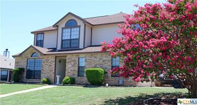 Copperas Cove TX Single Family Home For Sale: $159,900