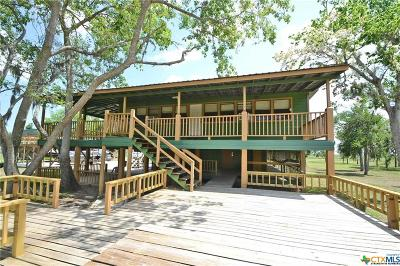 Bell County, Bosque County, Burnet County, Calhoun County, Coryell County, Lampasas County, Limestone County, Llano County, McLennan County, Milam County, Mills County, San Saba County, Williamson County, Hamilton County Single Family Home For Sale: 1791 Guadalupe River Drive