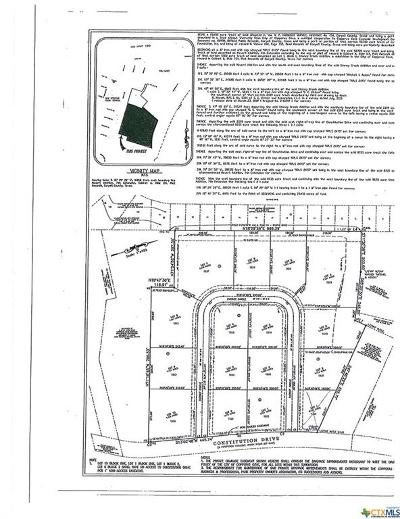 Copperas Cove Residential Lots & Land For Sale: 1844 Patriot Circle