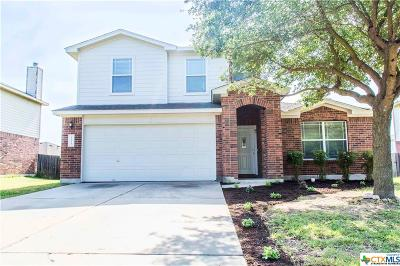 Round Rock Single Family Home For Sale: 1115 Kenneys Way