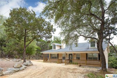 Canyon Lake Single Family Home For Sale: 153 Sunrise Drive