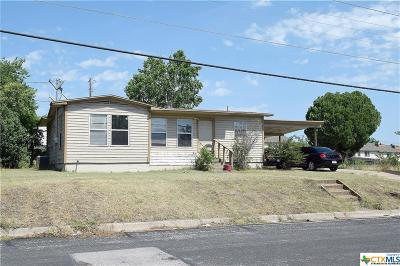 Killeen Single Family Home For Sale: 605 Houston