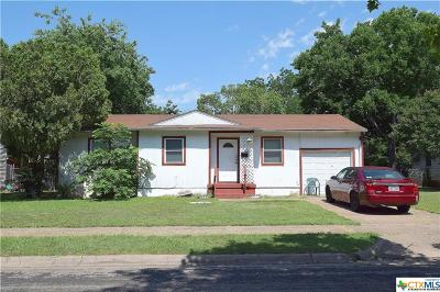 Killeen Single Family Home For Sale: 505 Patton
