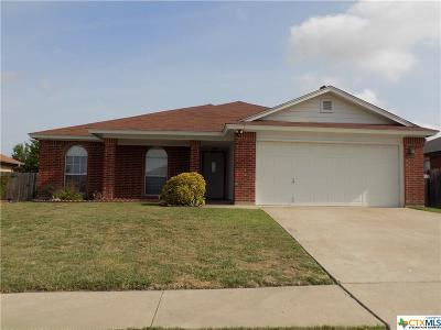 Killeen Single Family Home For Sale: 5707 Montrose Drive