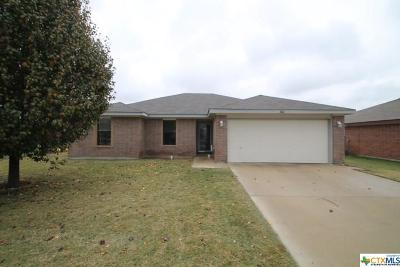 Copperas Cove TX Single Family Home For Sale: $128,000