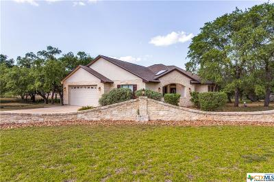 Canyon Lake Single Family Home For Sale: 334 Gallagher Dr.