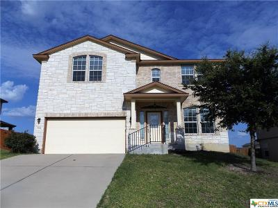 Copperas Cove TX Single Family Home For Sale: $175,000