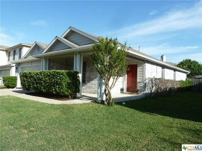 Round Rock Single Family Home For Sale: 1202 Dayton