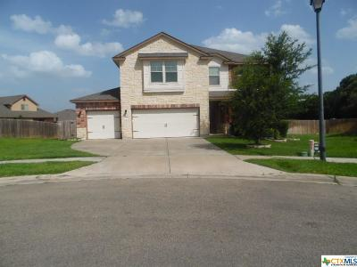 Killeen Single Family Home For Sale: 7100 Osbaldo Drive
