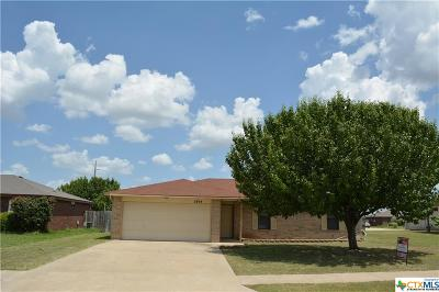 Killeen Single Family Home For Sale: 2804 Daytona