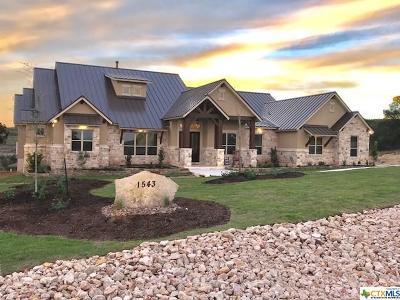 New Braunfels Single Family Home For Sale: 1543 Via Principale
