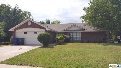 Copperas Cove Single Family Home For Sale: 902 Creek