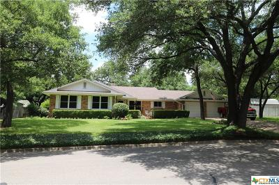 Temple Single Family Home For Sale: 3006 El Camino Drive