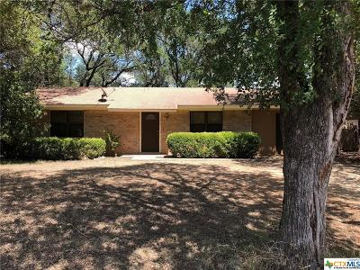 Belton Single Family Home For Sale: 1306 Shady Lane
