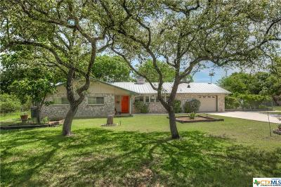 Canyon Lake Single Family Home For Sale: 148 W Canteen Drive