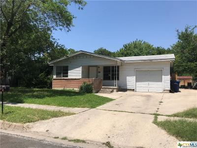 Copperas Cove Single Family Home For Sale: 306 Ridge