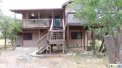 Canyon Lake Single Family Home For Sale: 1039 Eastside Drive