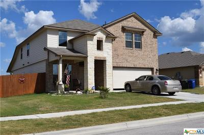 Copperas Cove TX Single Family Home For Sale: $236,500