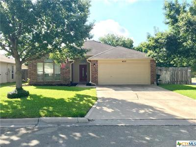 Temple Single Family Home For Sale: 4717 Sterling Manor