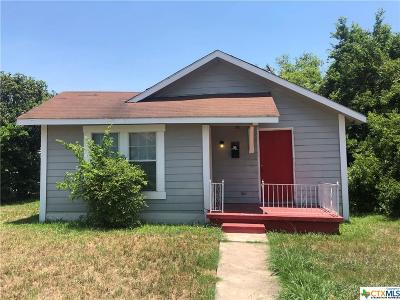 Temple Single Family Home For Sale: 1303 Martin Luther King Jr Drive