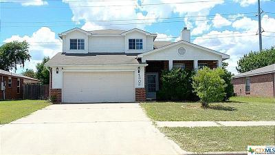 Killeen Single Family Home For Sale: 4303 Paintbrush