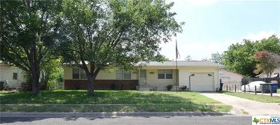 Copperas Cove Single Family Home For Sale: 204 N Easy Street