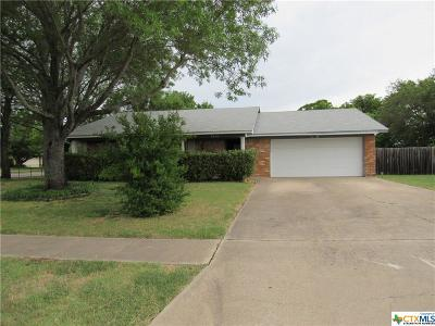 Killeen Single Family Home For Sale: 4501 Mountain View