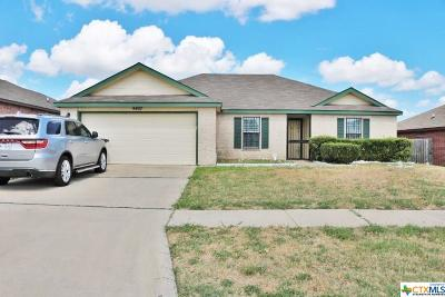 Killeen TX Single Family Home For Sale: $128,000