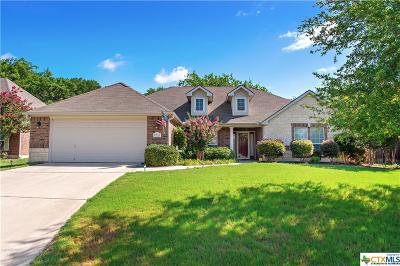 Temple Single Family Home For Sale: 2804 Meadow Wood Drive