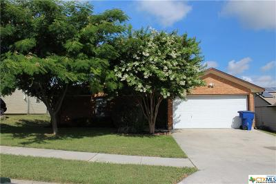 Copperas Cove TX Single Family Home For Sale: $87,500