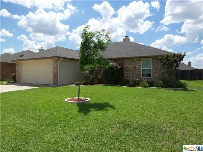 Killeen Single Family Home For Sale: 3903 Jake Spoon Drive