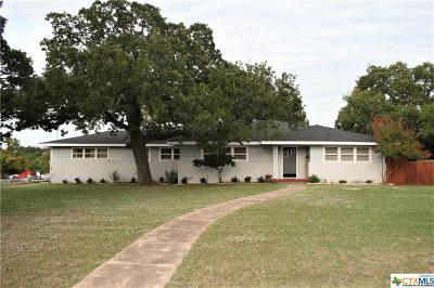 Gatesville TX Single Family Home For Sale: $129,000