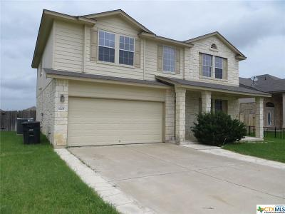 Killeen TX Single Family Home For Sale: $146,900