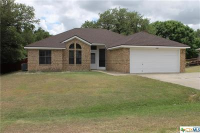 Harker Heights TX Single Family Home For Sale: $154,900