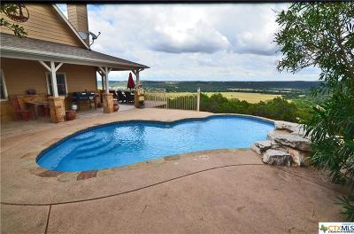 Canyon Lake Single Family Home For Sale: 385 Turkey Drive