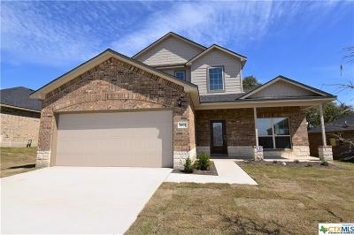 Killeen  Single Family Home For Sale: 7602 Melanite Drive