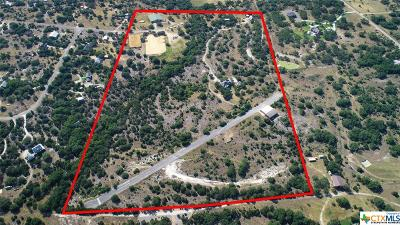 New Braunfels Residential Lots & Land For Sale: 3220 Rolling Oaks Drive