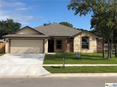 Copperas Cove Single Family Home For Sale: 1038 Declaration Drive