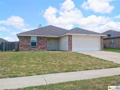 Killeen TX Single Family Home For Sale: $115,900