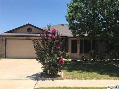 Killeen Single Family Home For Sale: 5102 Holster