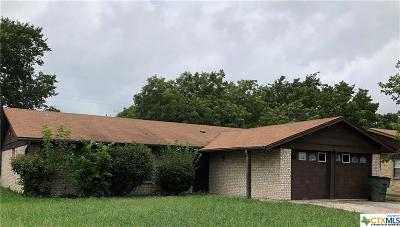 Killeen Single Family Home For Sale: 1008 Bonner